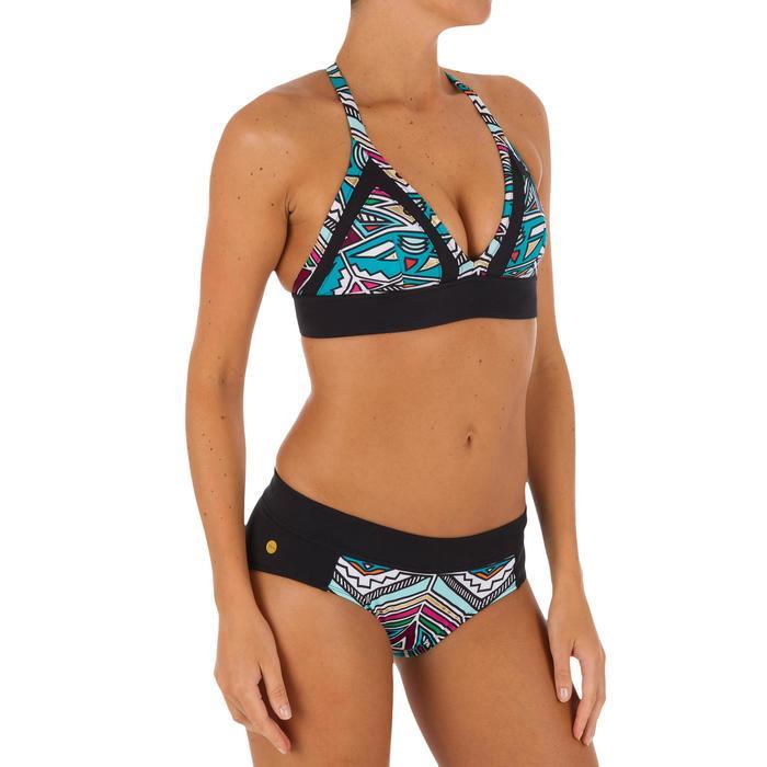 Bikini-Oberteil Bustier Isa Ncolo Damen türkis