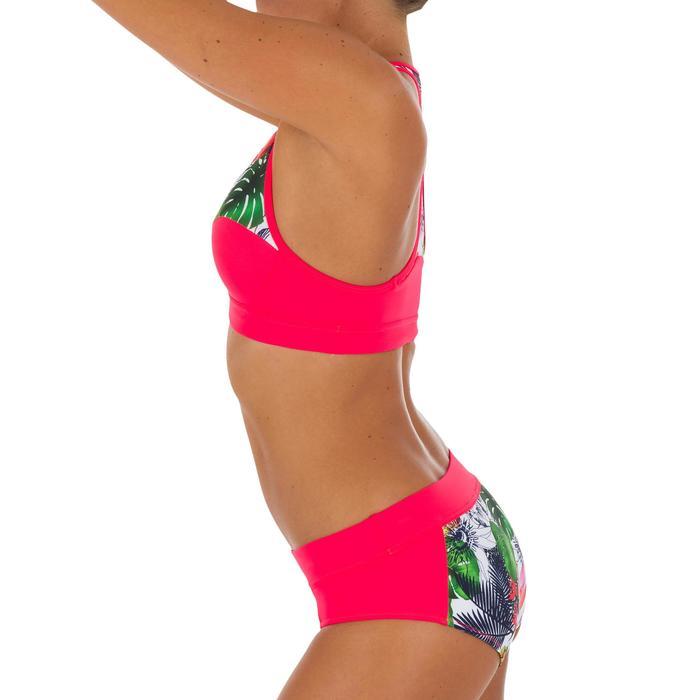 Bas de maillot de bain de surf femme avec cordon de serrage VALY FACET - 1078946