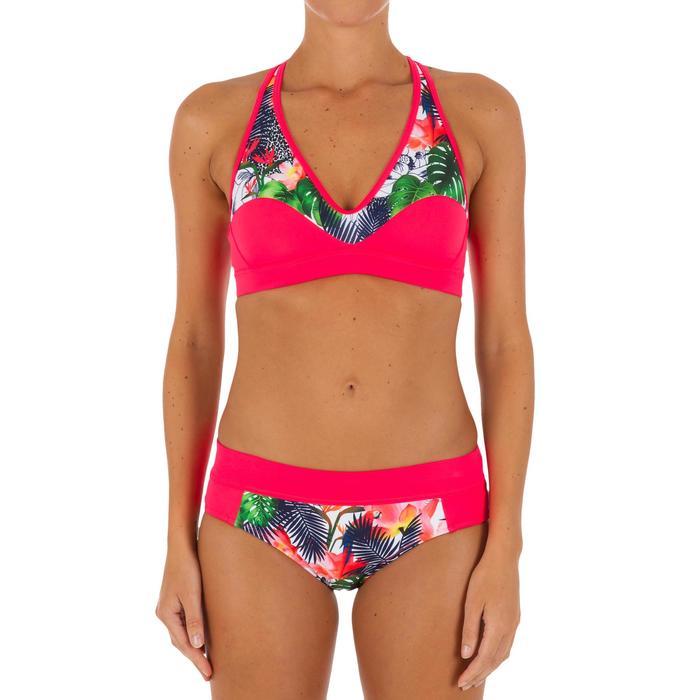 Bas de maillot de bain de surf femme avec cordon de serrage VALY FACET - 1078957