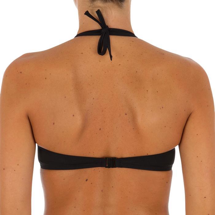 Haut de maillot de bain femme bandeau armatures avec lien cou amovible - 1079003