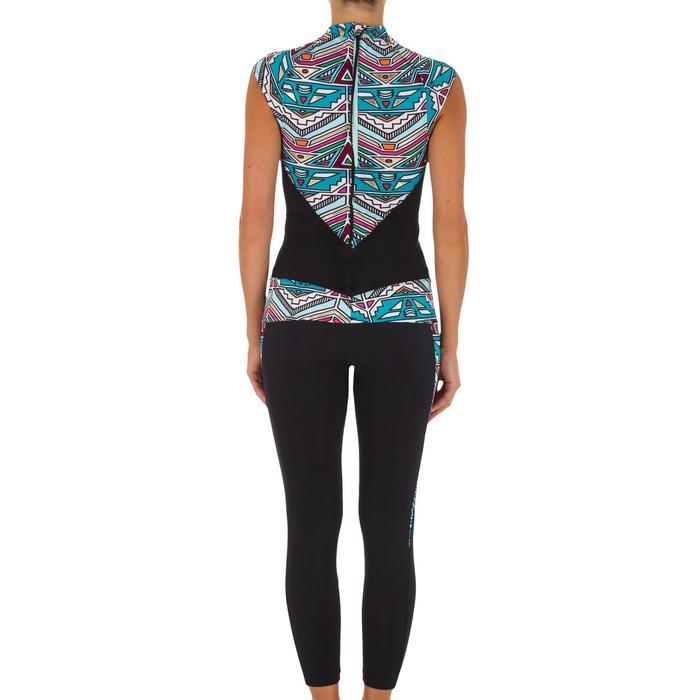 Haut de maillot de bain femme tankini avec zip dos IDYL NCOLO DORE - 1079065