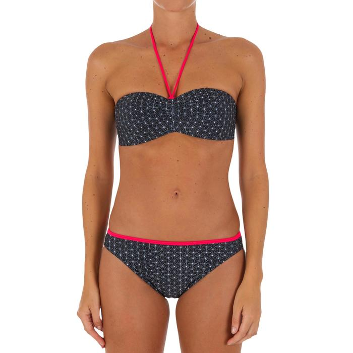 Bikini-Oberteil Bandeau Laeti Mosaica angenähte Formschalen Damen
