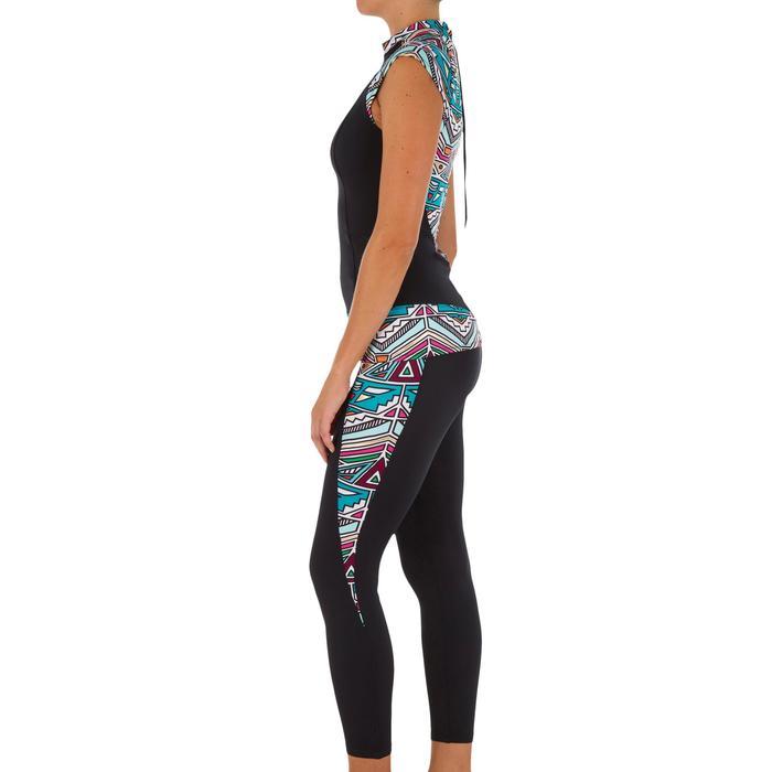 Haut de maillot de bain femme tankini avec zip dos IDYL NCOLO DORE - 1079124