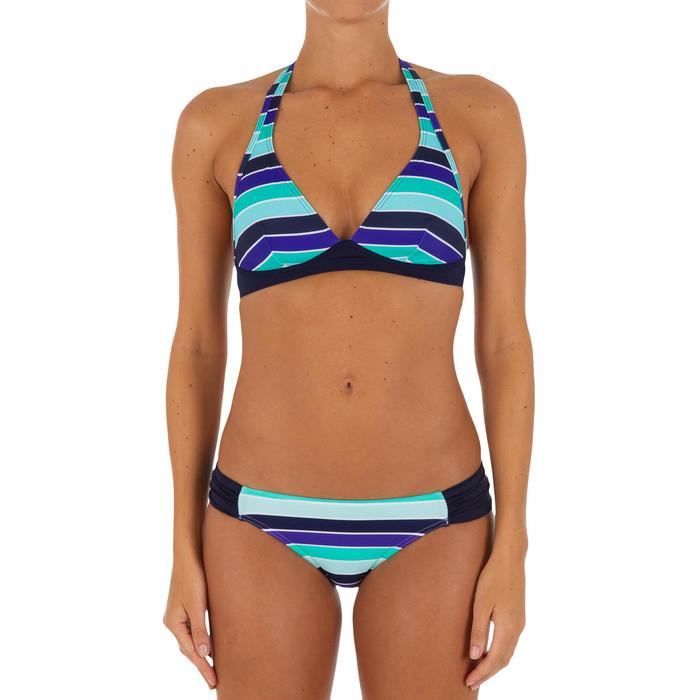 Bas de maillot de bain de surf femme plissée côté NIKI MALIBU