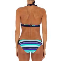 Dames bikinibroekje Niki Malibu, gefronst opzij, voor surfen
