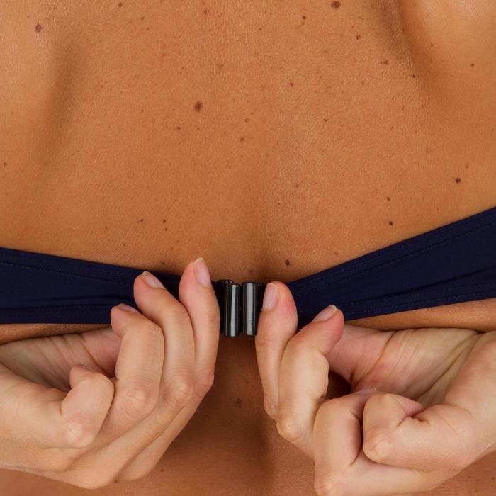 Haut de maillot de bain femme bandeau armatures avec lien cou amovible - 1079196