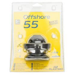 Schiffskompass Offshore 55 schwarz