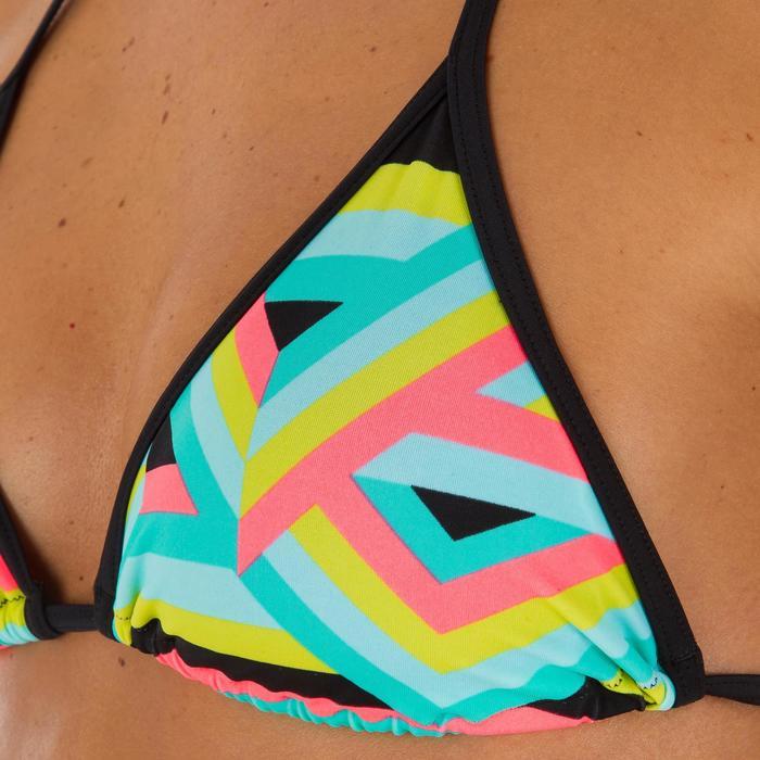 Haut de maillot de bain femme triangle coulissant avec coques MAE - 1079429