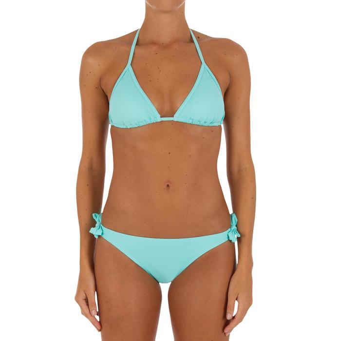 Haut de maillot de bain femme triangle coulissant avec coques MAE CORAIL - 1079443