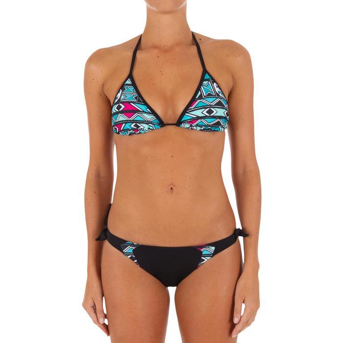Haut de maillot de bain femme triangle coulissant avec coques MAE COLOR BLOCK FR - 1079479
