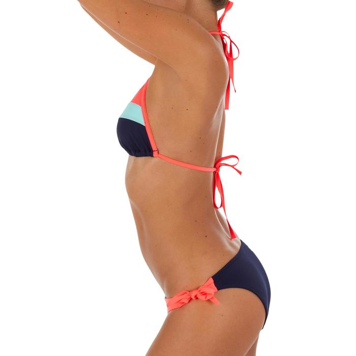 Hoog uitgesneden bikinibroekje met striksluiting voor surfen Sabi Colorb