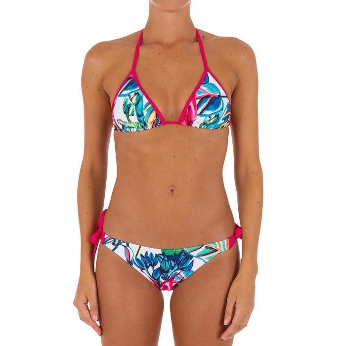 Haut de maillot de bain femme triangle coulissant avec coques MAE COLOR BLOCK FR - 1079535