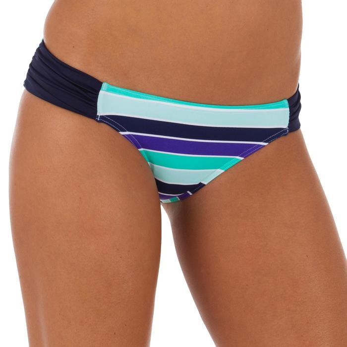 Bas de maillot de bain de surf femme plissée côté NIKI - 1079543