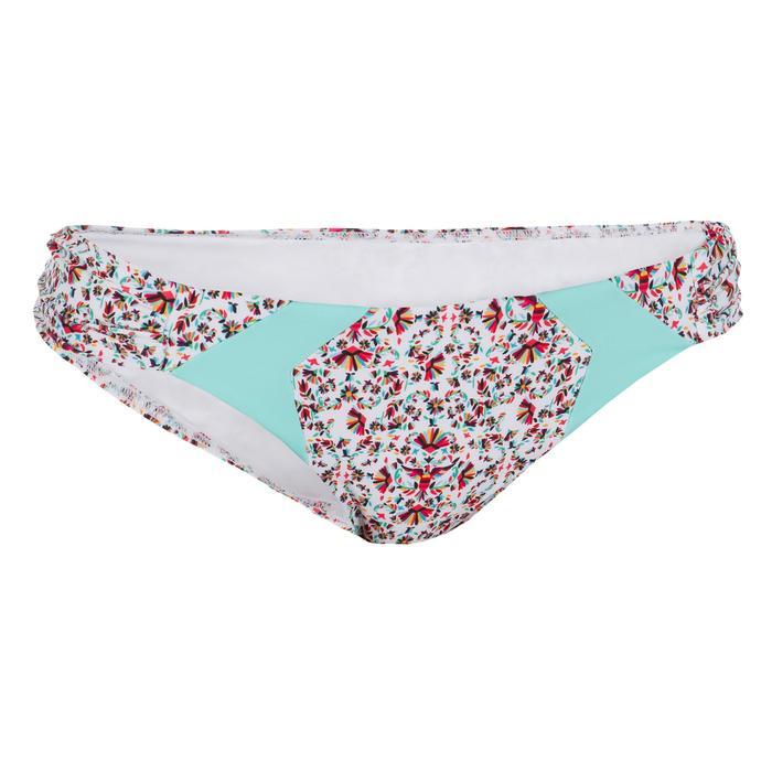 Bas de maillot de bain femme culotte NIKI COLORB avec fronces côté - 1079544