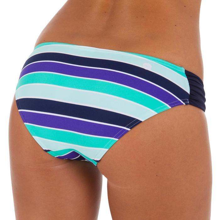 Bas de maillot de bain de surf femme plissée côté NIKI - 1079549