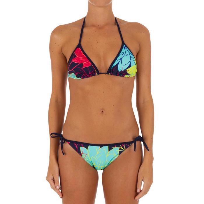 Sujetador de bikini triángulos corredizos con copas para mujer MAE LOTUS