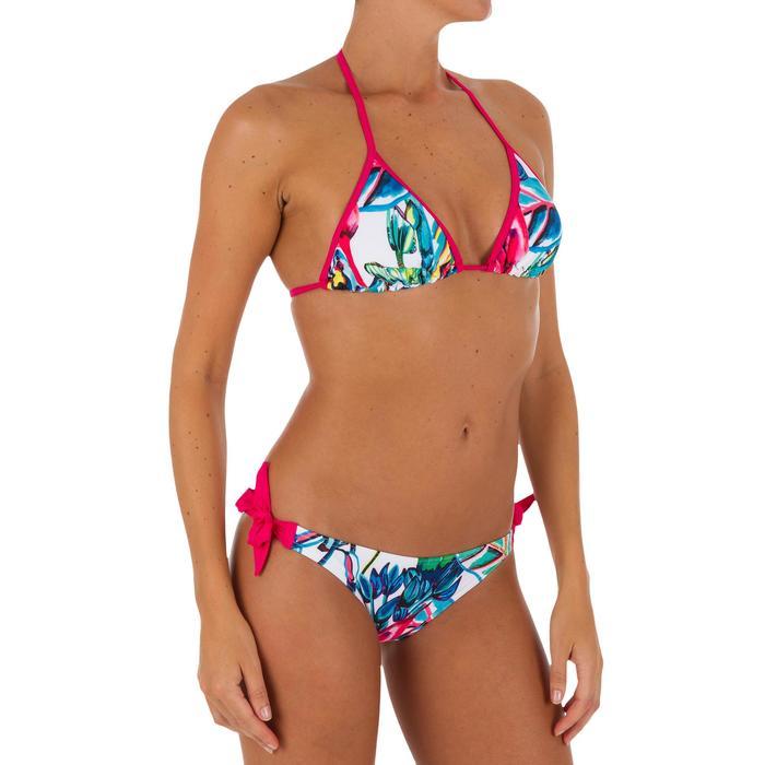 Haut de maillot de bain femme triangle coulissant avec coques MAE COLOR BLOCK FR - 1079587