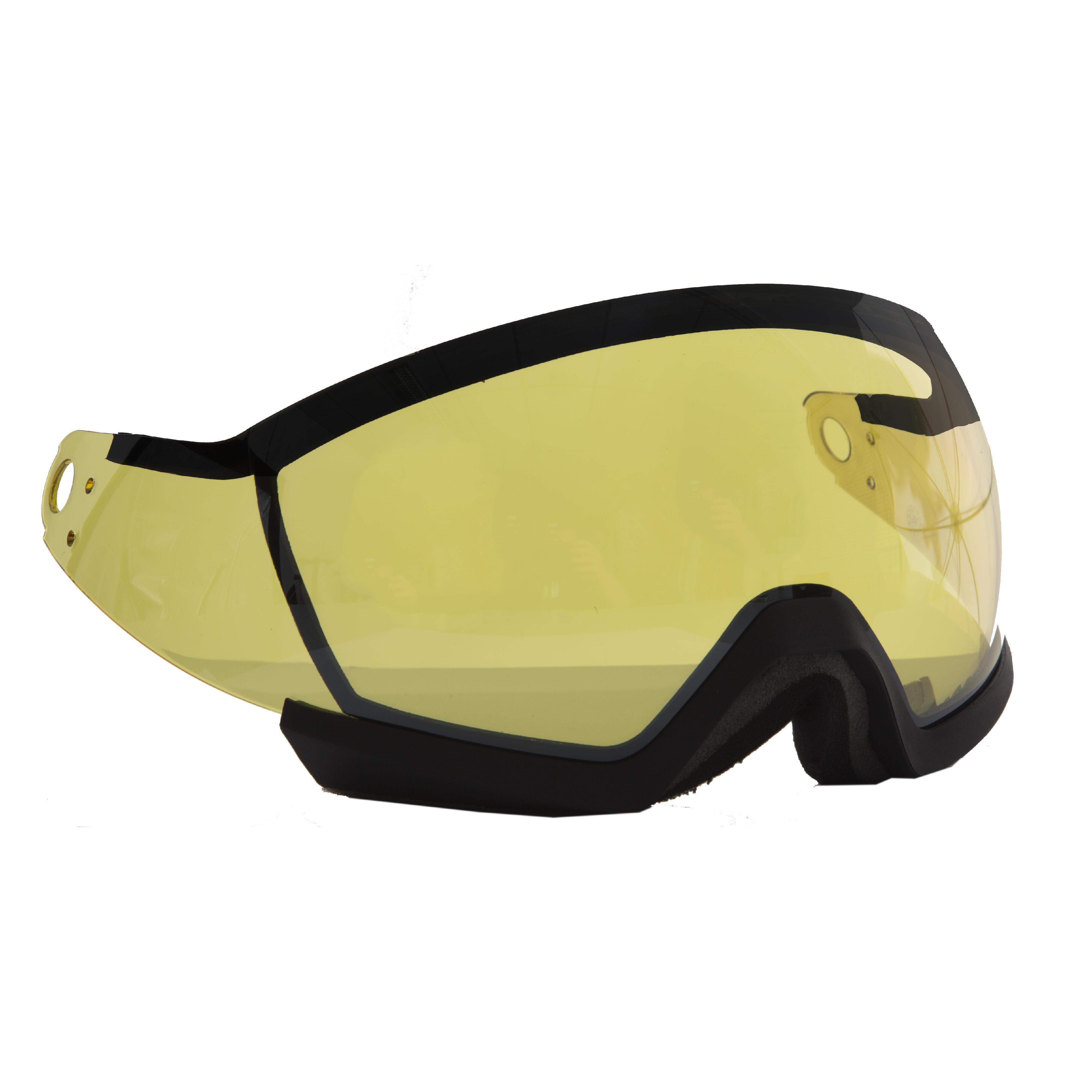 Wed'ze Vizier voor skihelm volwassenen (Feel 150 - HRC 550 - Stream 550 - Feel 450)