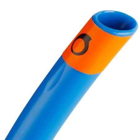 Tuba de snorkeling FRD100 bleu pour adultes