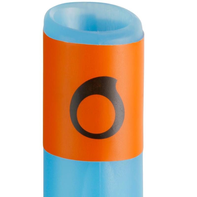 Tubo de snorkeling 500 niño azul