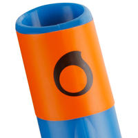 Adults' snorkel FRD100 blue
