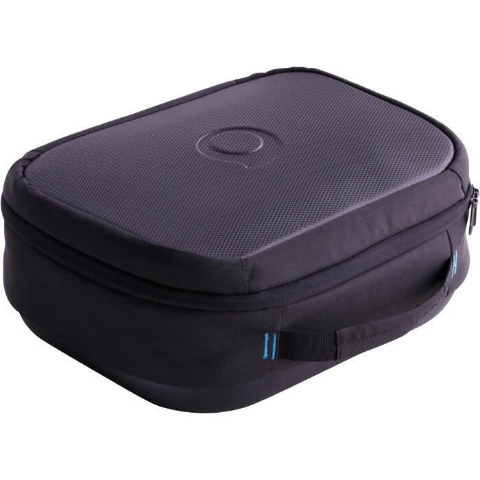 Tauchtasche für Atemregler SCD schwarz/blau