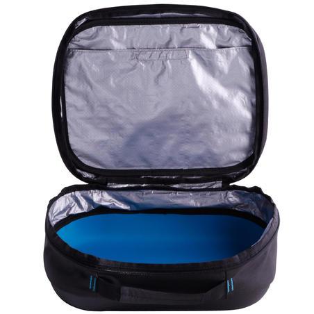 Pelindung/tas regulator selam scuba SCD hitam/biru