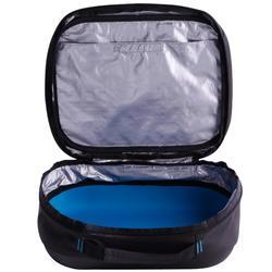 水肺潛水調節器收納包SCD-黑色/藍色