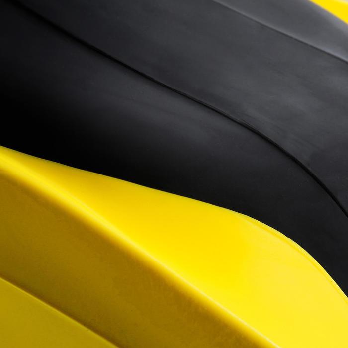 Palmes de plongée bouteille réglables AVANTI TRE SUPERCHANNEL ABS jaunes noires - 1079902
