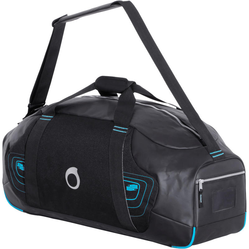 Scuba-diving bag 70 litres - black/blue