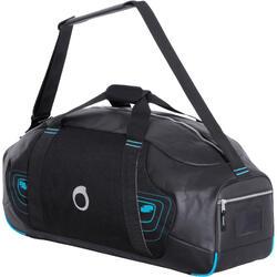 Bolsa de buceo SCD 70 litros negra/azul