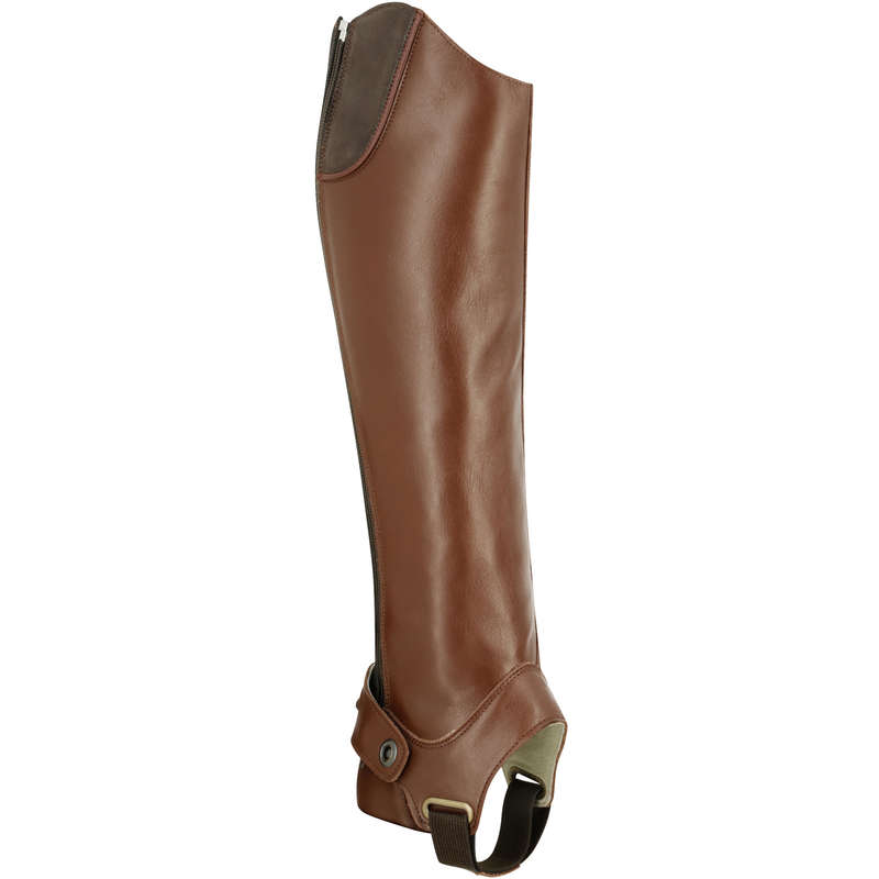 ADULT RIDING BOOTS/HC - Training 700 Adult Half Chaps FOUGANZA