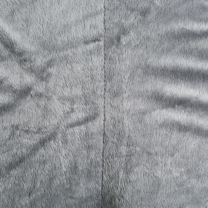 Sattelpad Schaumstoff Lena Fleece für Pony/Pferd grau