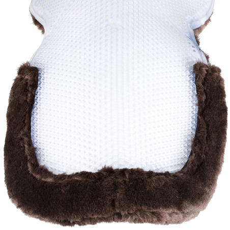 Polygel Horseback Riding Fleece and Gel Saddle Pad for Horse and Pony