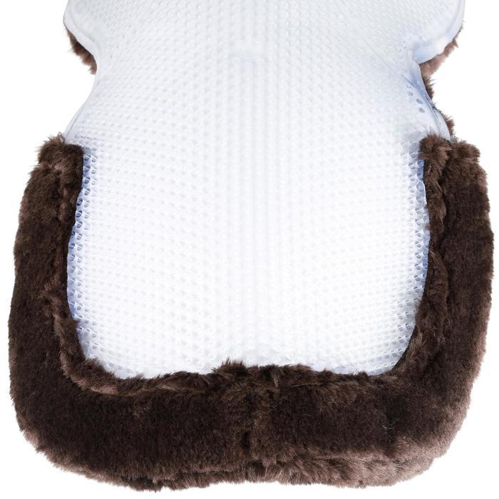 Amortisseur de dos laine et gel équitation cheval et poney POLYGEL - 1080067