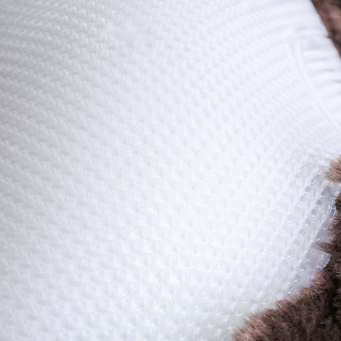 Amortisseur de dos laine et gel équitation cheval et poney POLYGEL marron