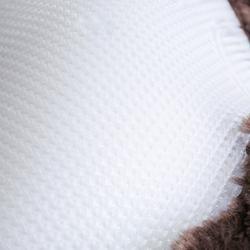 Zadelonderlegger Polygel wol en gel ruitersport paard en pony bruin
