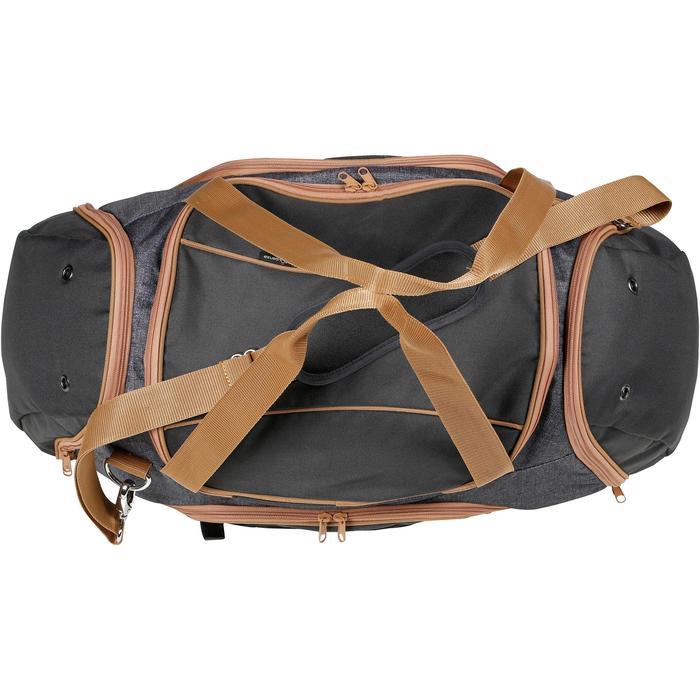 Bolsa Deporte Equitación Fouganza DUFFLE 55 L Grisl y Marrón