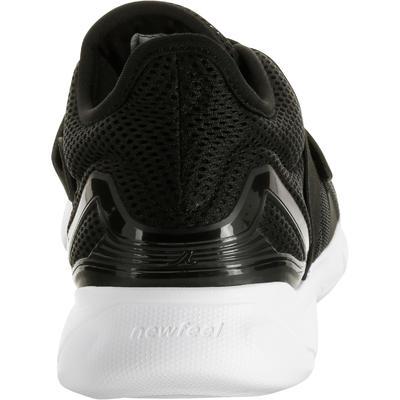 Soft 180 Strap women's fitness walking shoes - black/white