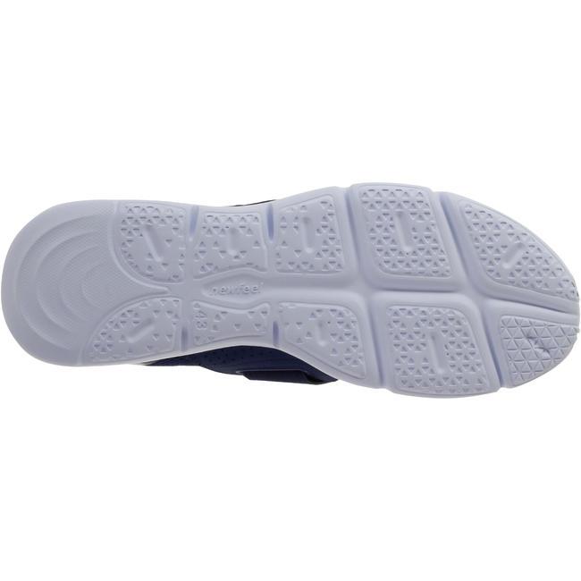 Walking Shoes for Men Soft 180 Strap- Blue/White