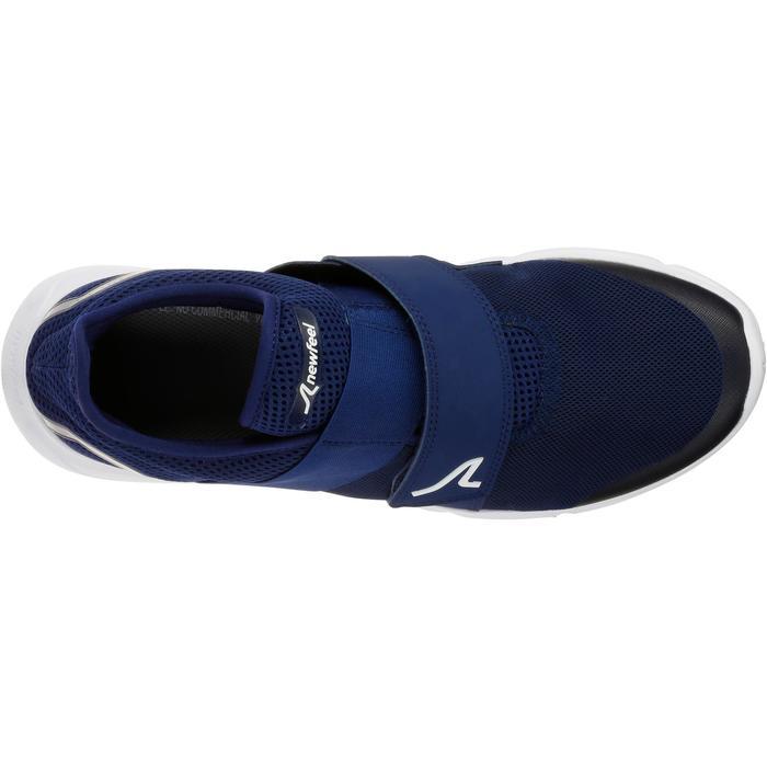 Chaussures marche sportive homme Soft 180 strap bleu foncé - 1080258