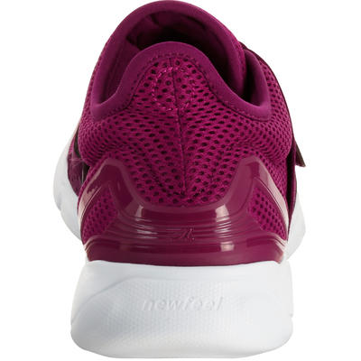 Soft 180 Strap Women's Fitness Walking Shoes - Purple/Pink