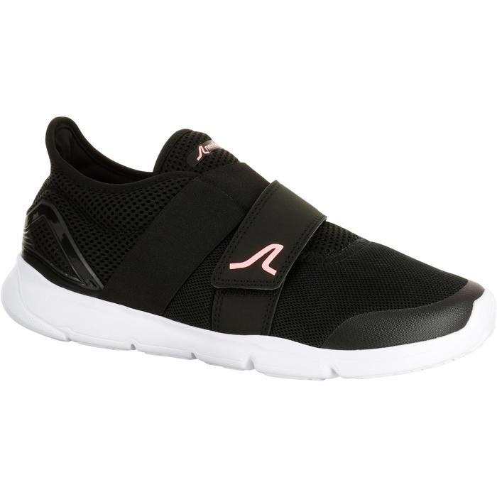 Walkingschuhe Soft 180 Strap Damen schwarz/rosa