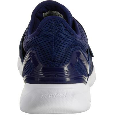 Chaussures marche sportive homme Soft 180 Strap bleu / blanc