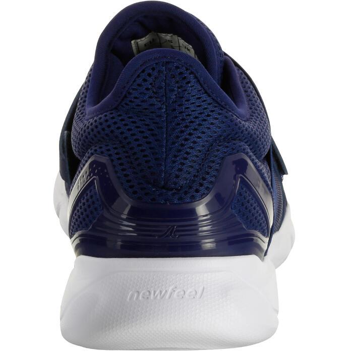 Chaussures marche sportive homme Soft 180 strap bleu foncé - 1080351