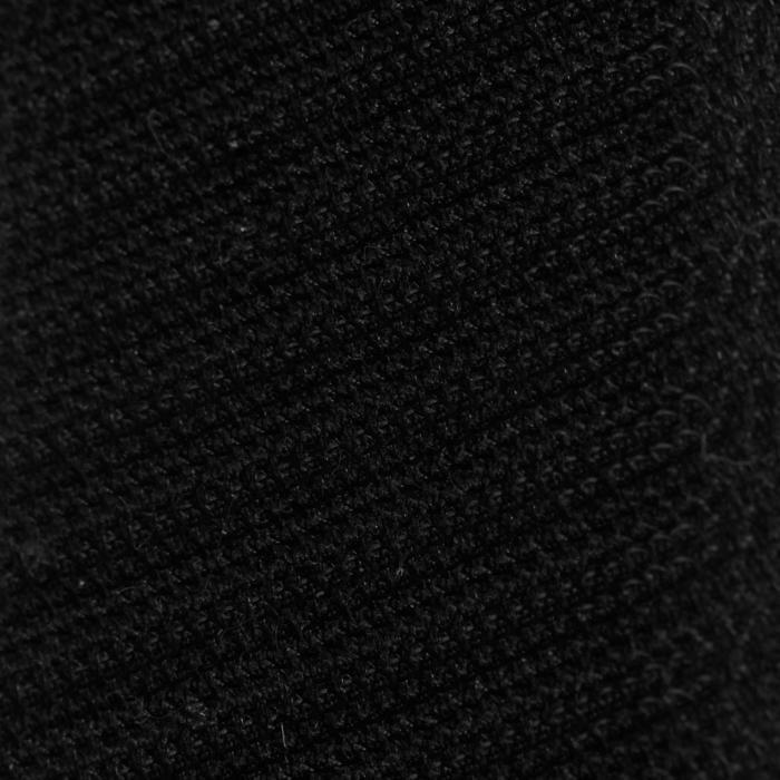 """Compleet uitgerust veelzijdigheidszadel Synthia ruitersport kunstleer zwart 17""""5"""