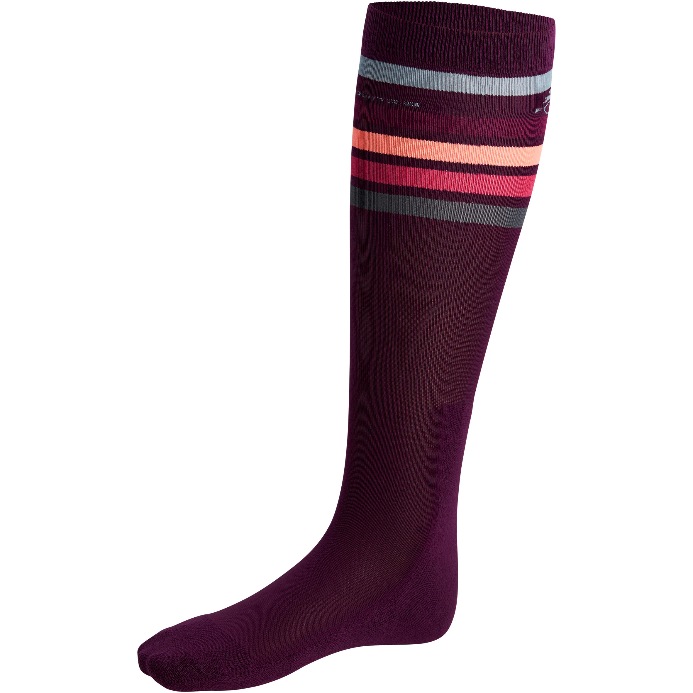 Adult Horse riding socks basic as purple/pink/orange