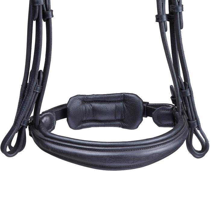 Set bride + rênes équitation PADDOCK noir taille cheval - 1080490
