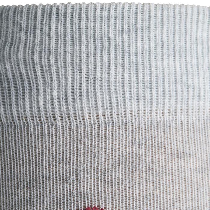 Calcetines equitación adulto ROMBOS Azul marino, Rojo y Gris jaspeado x 2 pares