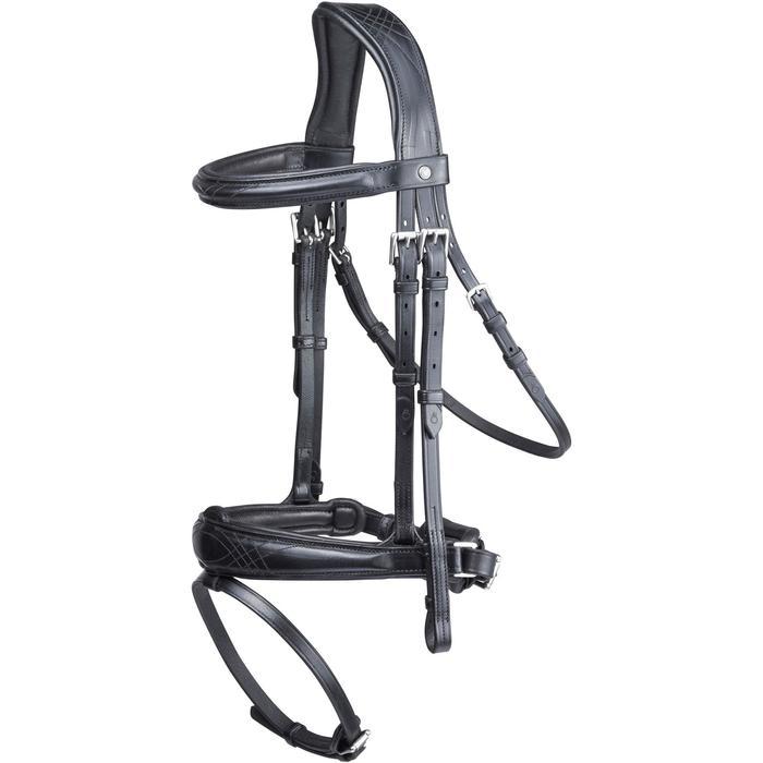 Filet + rênes équitation PULL BACK - taille cheval - 1080505